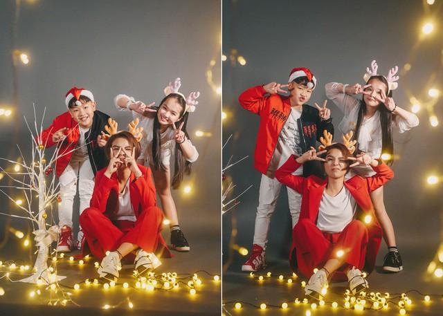 Ngắm bộ ảnh đón Giáng sinh cực dễ thương của Sơn - Tường cùng học trò - Ảnh 3.