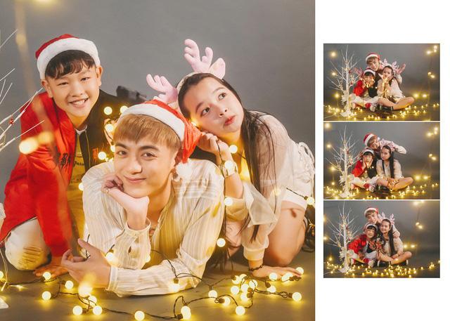 Ngắm bộ ảnh đón Giáng sinh cực dễ thương của Sơn - Tường cùng học trò - Ảnh 2.