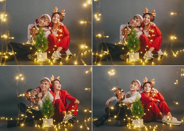 Ngắm bộ ảnh đón Giáng sinh cực dễ thương của Sơn - Tường cùng học trò - Ảnh 1.