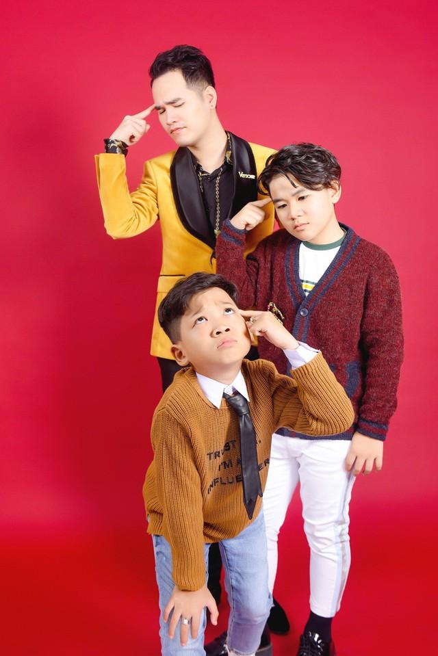 Giọng hát Việt nhí: Bảo Anh - Khắc Hưng tung bộ ảnh sang chảnh nhưng cực lầy - Ảnh 1.