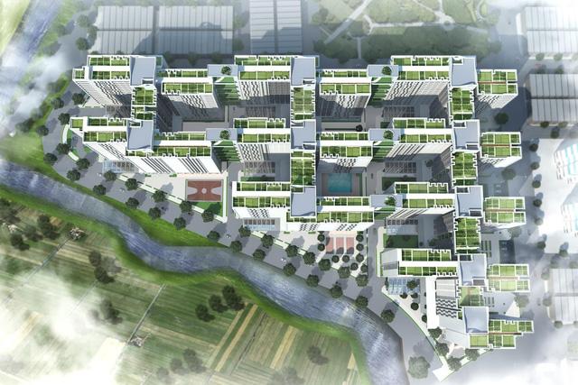 CUBIC Architects - Giải nhất cuộc thi thiết kế điển hình chung cư nhà ở xã hội cao tầng 2017 - Ảnh 3.