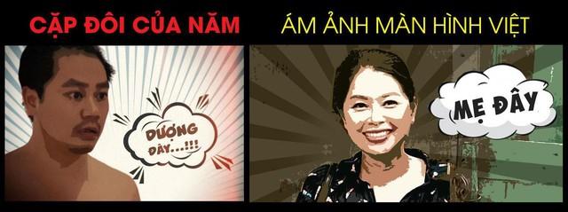 Cặp đôi gây ám ảnh nhất màn ảnh Việt đã lộ diện - Ảnh 4.