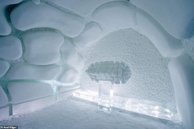 Choáng ngợp với những tuyệt tác điêu khắc trong khách sạn băng Thụy Điển - Ảnh 4.