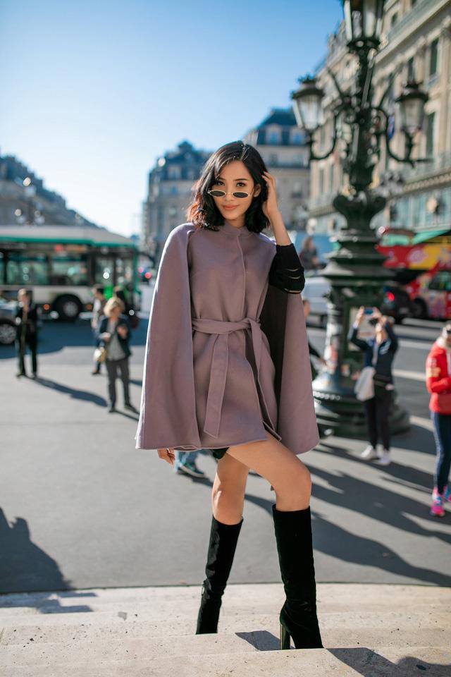 Hoàng Thùy khoe gu thời trang sành điệu tại Paris - Ảnh 8.