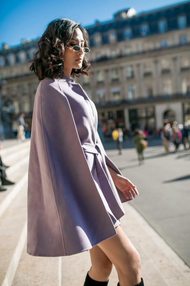 Hoàng Thùy khoe gu thời trang sành điệu tại Paris - Ảnh 7.