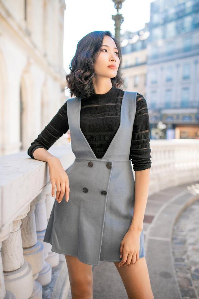 Hoàng Thùy khoe gu thời trang sành điệu tại Paris - Ảnh 4.