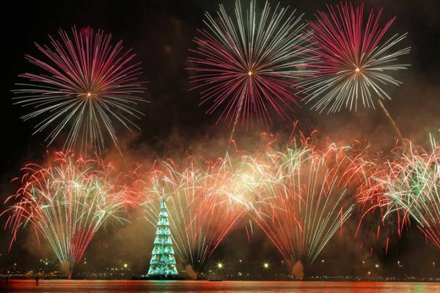 Không khí Giáng sinh sớm ở Rio de Janeiro, Brazil - Ảnh 2.