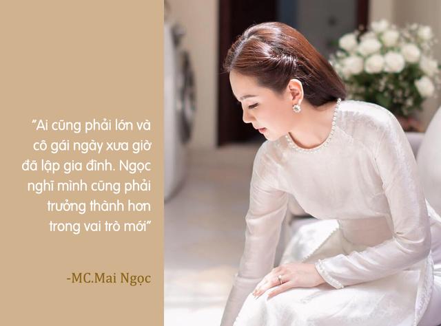 MC Mai Ngọc không còn là cô gái thời tiết - Ảnh 1.