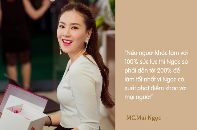 MC Mai Ngọc không còn là cô gái thời tiết - Ảnh 3.