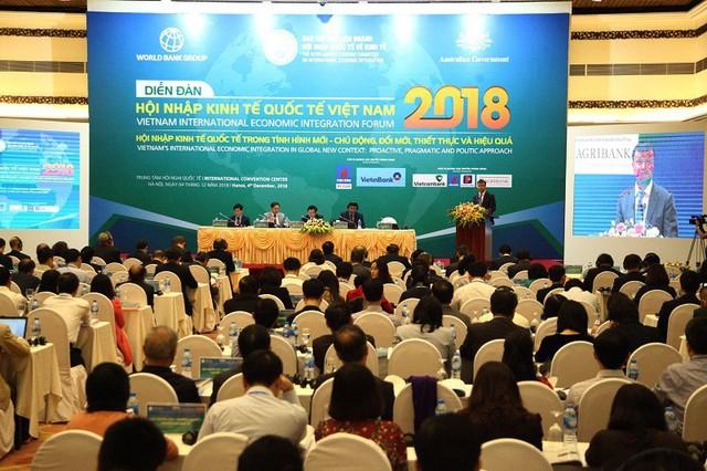 Việt Nam đã có một năm sôi động với các hoạt động hội nhập kinh tế quốc tế - Ảnh 2.