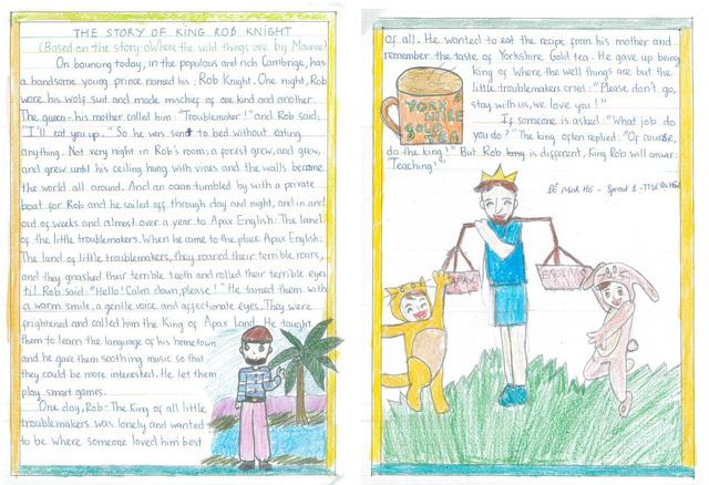 Cô học trò lớp 4 và câu chuyện cảm động về người thầy - Ảnh 1.