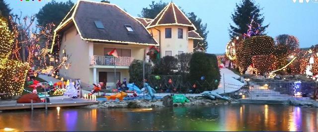 Rực rỡ ngôi nhà Giáng sinh ở Áo - Ảnh 3.
