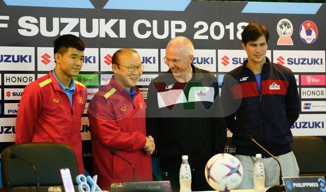 HLV Park Hang Seo khẳng định ĐT Việt Nam sẽ chơi trận đấu tốt nhất trước Philippines - Ảnh 1.