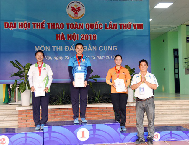 Môn Bắn cung Đại hội TTTQ 2018: Hà Nội, Vĩnh Long giành cú đúp HCV - Ảnh 1.
