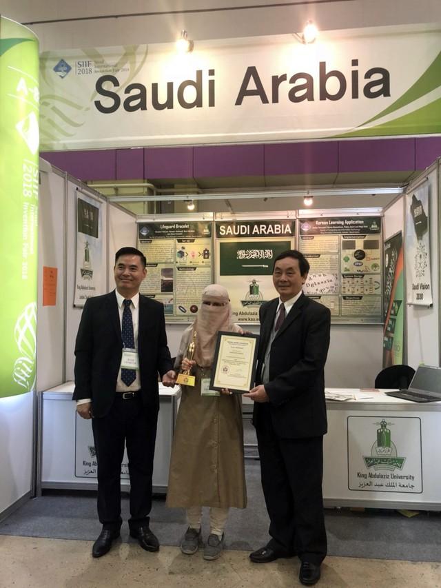 Công trình của Việt Nam nhận giải đặc biệt tại triển lãm quốc tế về Khoa học và Công nghệ 2018 - Ảnh 4.