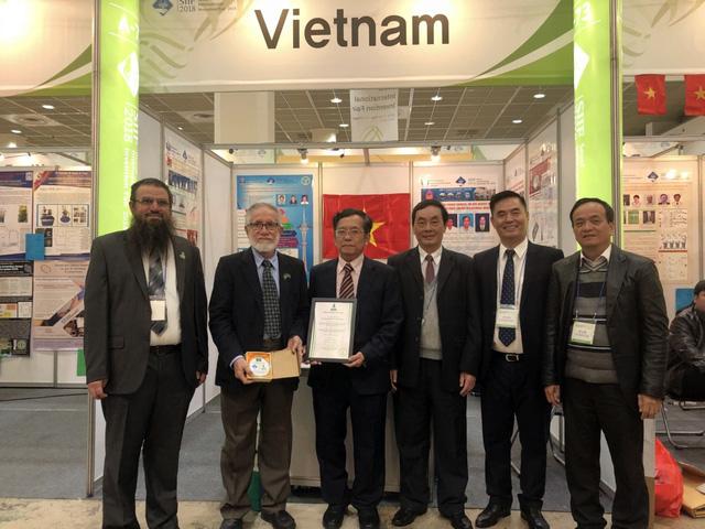 Công trình của Việt Nam nhận giải đặc biệt tại triển lãm quốc tế về Khoa học và Công nghệ 2018 - Ảnh 2.