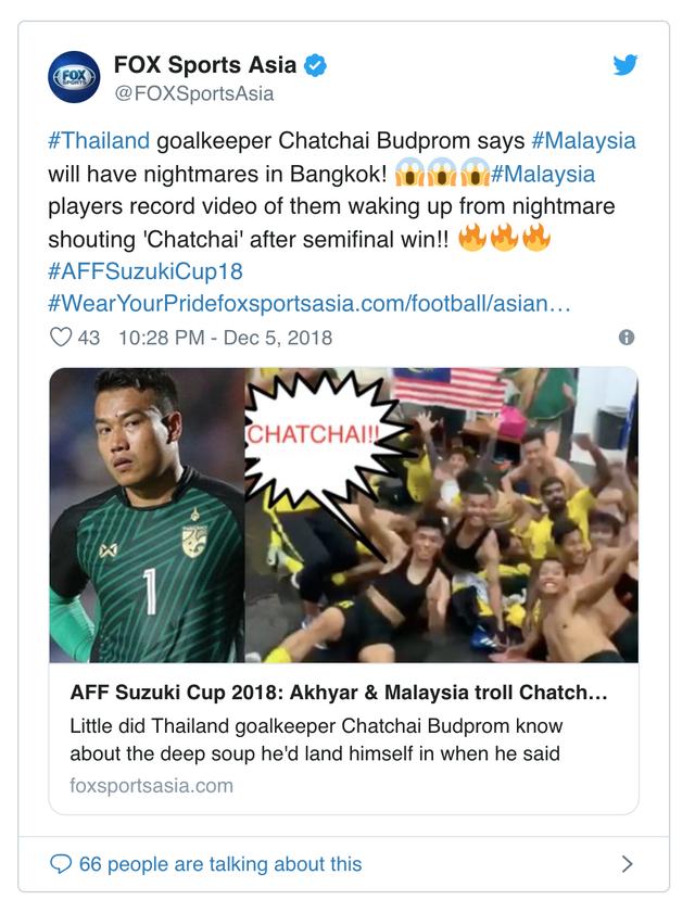 AFF Cup 2018: Thủ quân ĐT Malaysia tiết lộ doping cực mạnh giúp hạ gục ĐT Thái Lan - Ảnh 1.