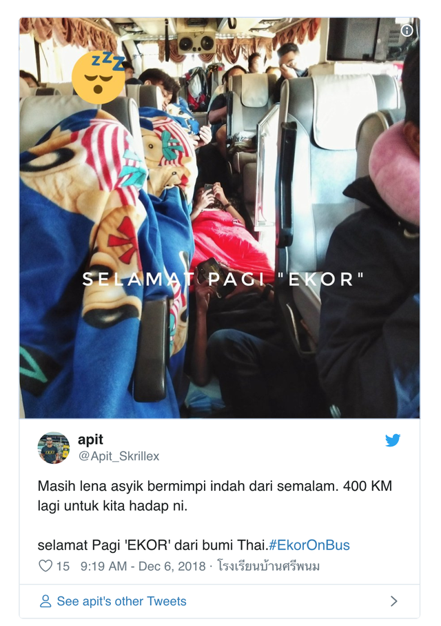 AFF Cup 2018: Fan Malaysia nô nức rời Thái Lan sau cơn địa chấn - Ảnh 1.