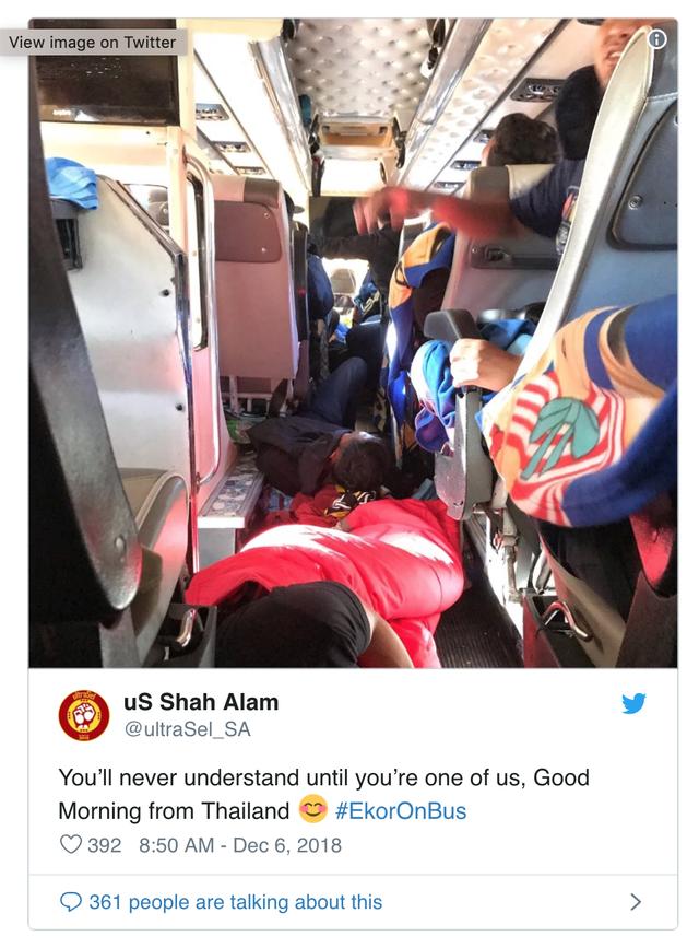 AFF Cup 2018: Fan Malaysia nô nức rời Thái Lan sau cơn địa chấn - Ảnh 2.