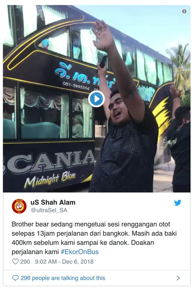 AFF Cup 2018: Fan Malaysia nô nức rời Thái Lan sau cơn địa chấn - Ảnh 3.