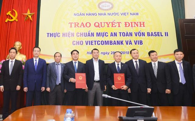 Vietcombank là ngân hàng đầu tiên đáp ứng chuẩn mực Basel II tại Việt Nam - Ảnh 1.