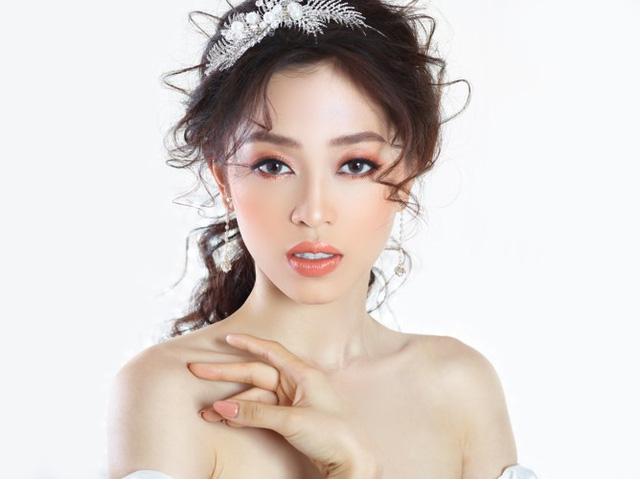 Á hậu Phương Nga hóa cô dâu xinh đẹp, lộng lẫy - Ảnh 6.