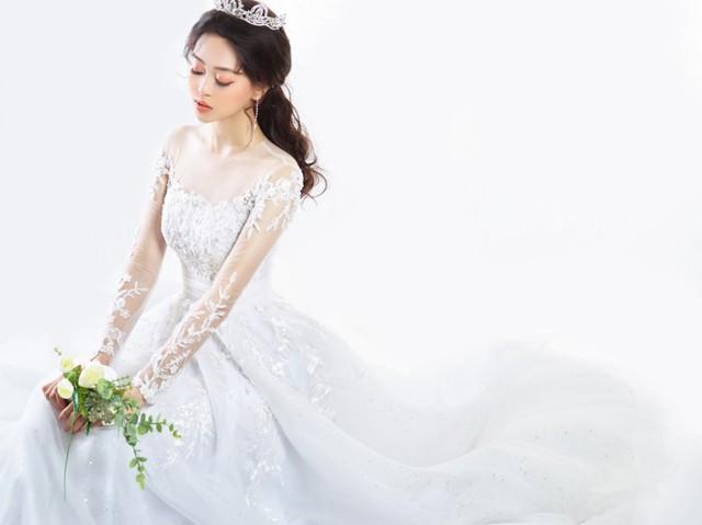 Á hậu Phương Nga hóa cô dâu xinh đẹp, lộng lẫy - Ảnh 8.