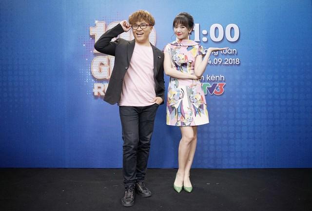 Hari Won tố bị Đại Nghĩa chèn ép khi dẫn chương trình cùng nhau - Ảnh 2.
