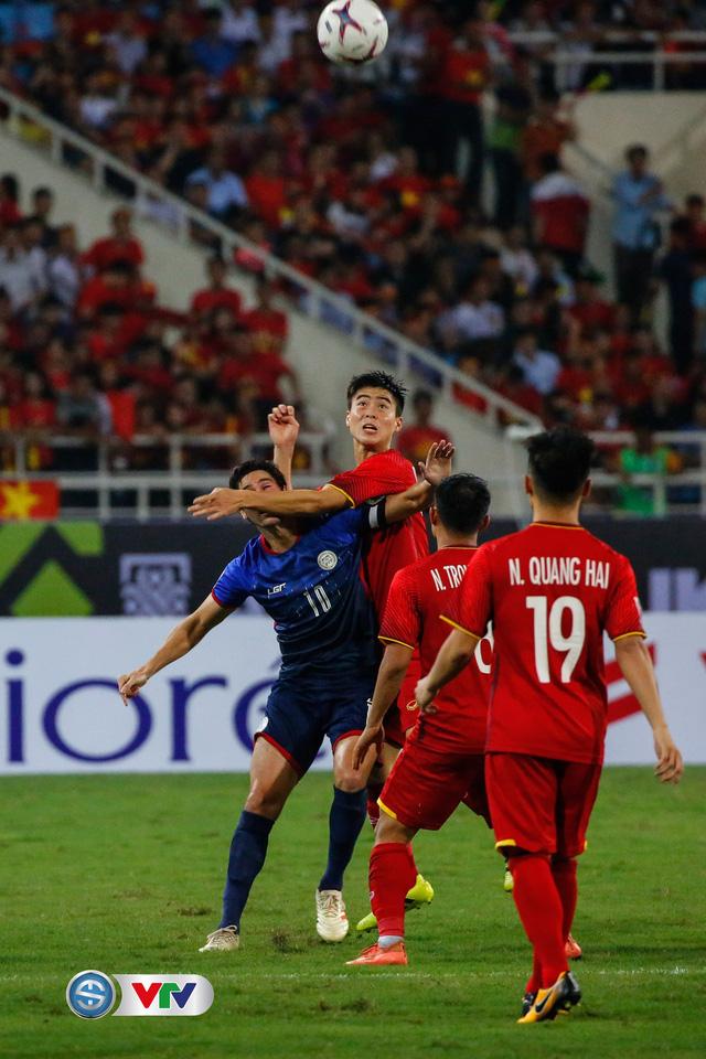 ẢNH: Toàn cảnh ĐT Việt Nam giành chiến thắng trước ĐT Philippines trên sân Mỹ Đình - Ảnh 14.