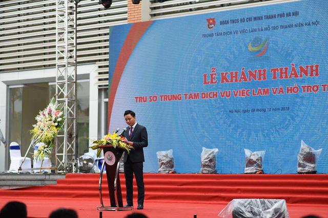 Hà Nội ra mắt Trung tâm dịch vụ việc làm và hỗ trợ thanh niên - Ảnh 1.