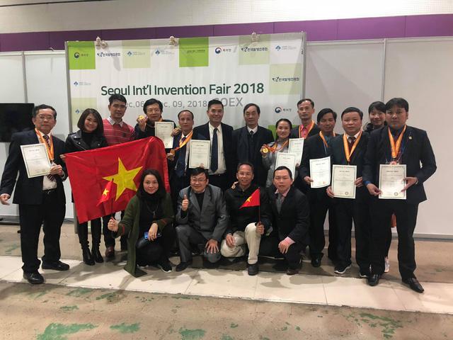 Việt Nam giành 3 HCV tại Giải thưởng quốc tế về Khoa học và Công nghệ 2018 - Ảnh 1.