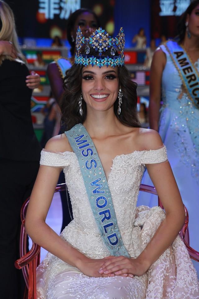Ngắm nhan sắc nóng bỏng của người đẹp Mexico đăng quang Miss World 2018 - Ảnh 1.