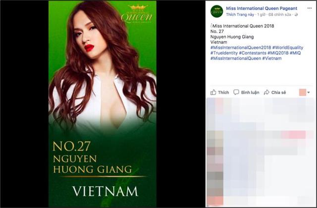 Hé lộ hình ảnh Hương Giang Idol dự thi Hoa hậu chuyển giới Thế giới - Ảnh 2.