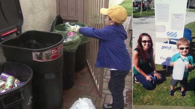 Mỹ: Cậu bé 8 tuổi làm chủ công ty tái chế rác thải nhựa - Ảnh 3.