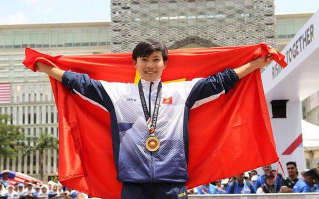 Cua rơ Nguyễn Thị Thật giành chức vô địch châu Á - Ảnh 1.