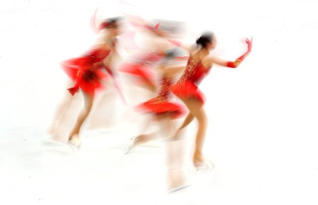 ẢNH: Những hình ảnh ấn tượng ngày thi đấu 12/2 của Olympic PyeongChang 2018 - Ảnh 7.