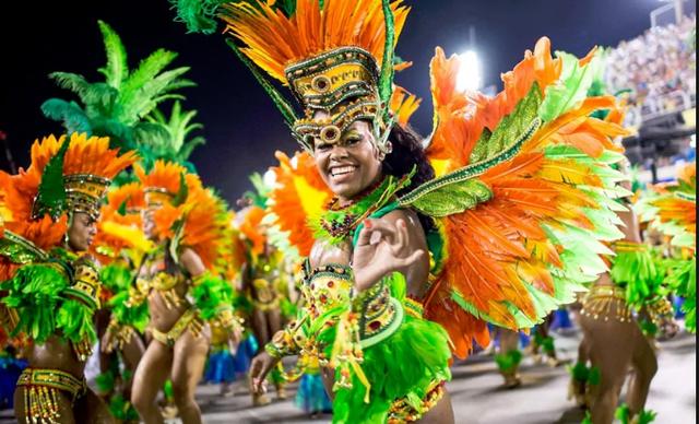 Tưng bừng lễ hội Carnival tại Brazil - Ảnh 5.