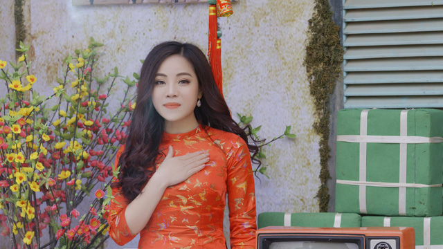 """Sao mai Mai Diệu Ly xinh tươi trong MV """"Ngày Tết quê em""""  - Ảnh 4."""