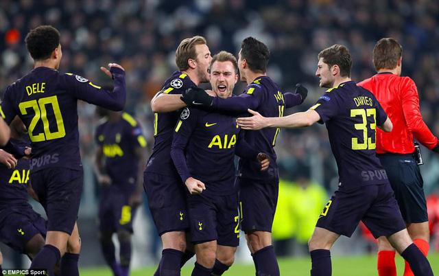 Kết quả Champions League sáng 14/2: Man City thắng đậm, Tottenham chia điểm trước Juventus - Ảnh 2.