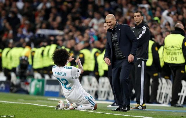 ẢNH: Những khoảnh khắc ấn tượng trong trận Real Madrid ngược dòng thành công trước PSG - Ảnh 17.