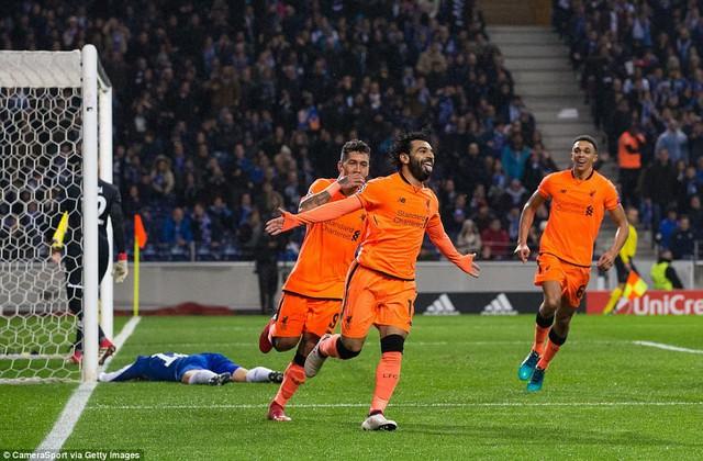 Vòng 1/8 Champions League: Liverpool giành thắng lợi dễ dàng trước Porto - Ảnh 2.