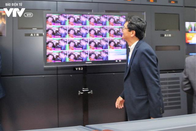 Tổng Giám đốc Trần Bình Minh chúc Tết các đơn vị VTV dịp Năm mới Mậu Tuất 2018 - Ảnh 6.