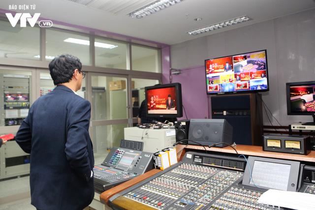 Tổng Giám đốc Trần Bình Minh chúc Tết các đơn vị VTV dịp Năm mới Mậu Tuất 2018 - Ảnh 9.