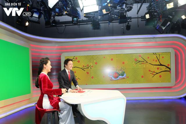 Tổng Giám đốc Trần Bình Minh chúc Tết các đơn vị VTV dịp Năm mới Mậu Tuất 2018 - Ảnh 8.
