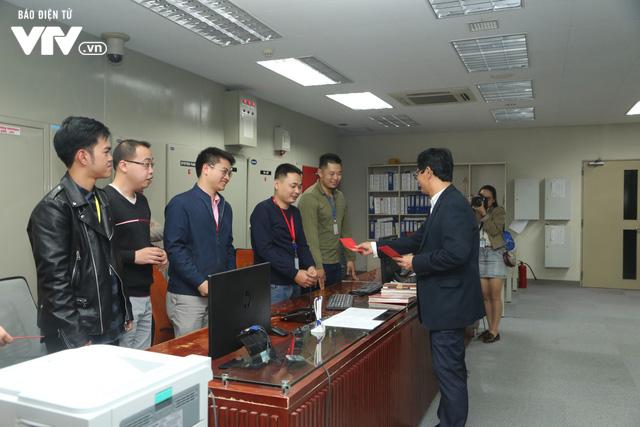 Tổng Giám đốc Trần Bình Minh chúc Tết các đơn vị VTV dịp Năm mới Mậu Tuất 2018 - Ảnh 10.