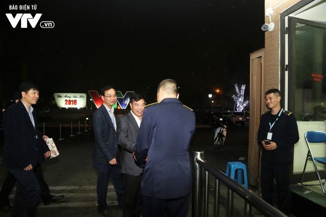 Tổng Giám đốc Trần Bình Minh chúc Tết các đơn vị VTV dịp Năm mới Mậu Tuất 2018 - Ảnh 11.