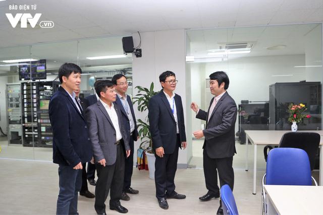 Tổng Giám đốc Trần Bình Minh chúc Tết các đơn vị VTV dịp Năm mới Mậu Tuất 2018 - Ảnh 3.
