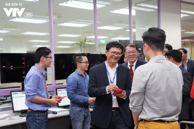 Tổng Giám đốc Trần Bình Minh chúc Tết các đơn vị VTV dịp Năm mới Mậu Tuất 2018 - Ảnh 5.
