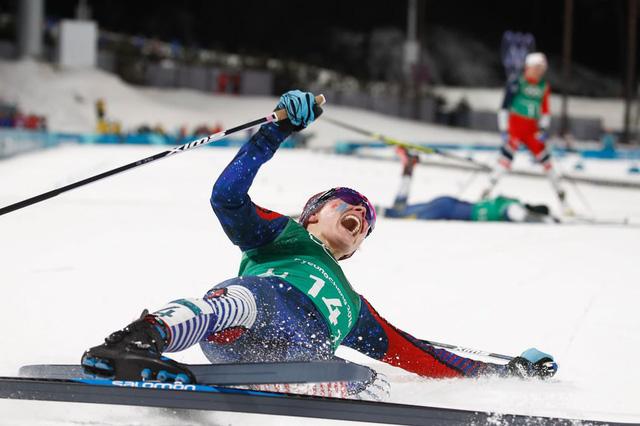 Những hình ảnh ấn tượng trong ngày thi đấu thứ 12 của Olympic PyeongChang 2018 - Ảnh 2.