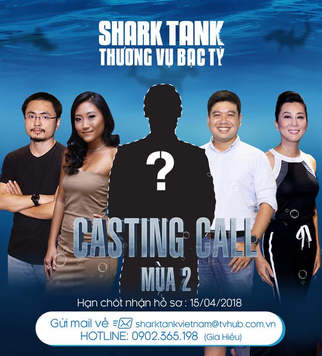 Shark Tank Việt Nam - Thương vụ bạc tỷ tuyển sinh mùa 2 - Ảnh 1.